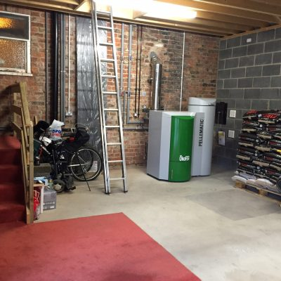 Biomass boiler maintenance