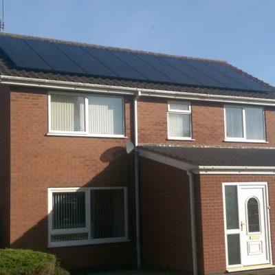 Solar PV install in Brigg